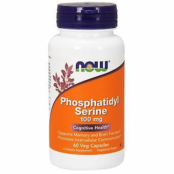 Nu Foods Phosphatidyl Serine, 100 mg, 60 Vcaps