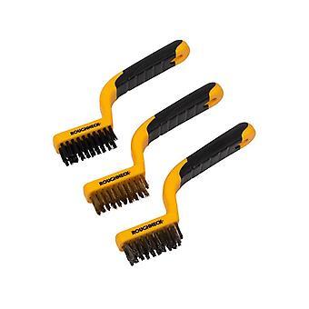 Roughneck Narrow Brush Set of 3 ROU52010