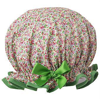 Tiny Flowers Shower Cap