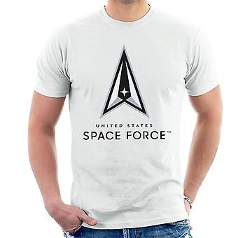 U.S. Space Force Lighter Logo Dark Text Men's T-Shirt