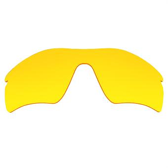 Replacement Lenses for Oakley Radar Path Sunglasses Anti-Scratch Yellow