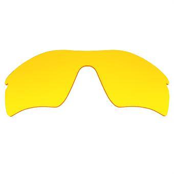 Náhradné šošovky pre Oakley Radar Cesta slnečné okuliare Anti-Scratch Žltá