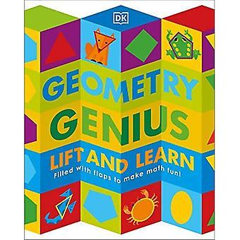 geometri geni: løft og lære: fyldt med flapper til at gøre matematik sjovt! (Løft og lær) [Bestyrelsesbog]