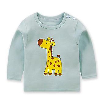 Taapero Pikkulapsi Lasten Tyttöjen Vaatteet, T-paita, Toppit