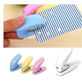 Minikortti / Paperialus - Ympyräkuvioinen käsireikä lävistys
