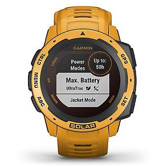 Garmin 010-02293-09 Instinct Solar GPS Sunburst Siliconen Bluetooth Horloge