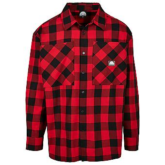Southpole Men's Long Sleeve Shirt Check Flannel