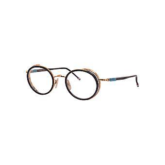 Thom Browne TBX813 01 Black-White Gold Glasses