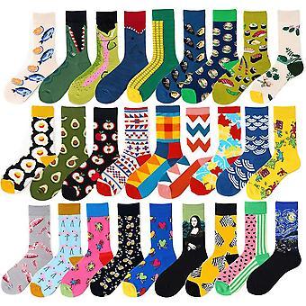 Men Graphic Socks