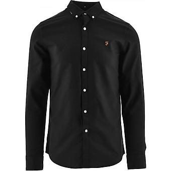 Farah Black Brewer Shirt