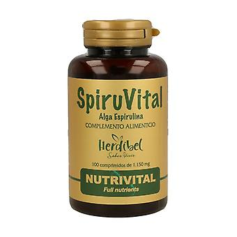 Spiruvital 100 tablets of 1150mg
