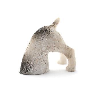 dukker huset grave kjæledyr hund miniatyr 1:12 skala hage tilbehør