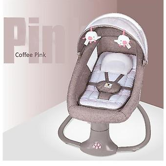 Baby Electric Rocking Chair Newborns Sleeping Cradle Bed Child Comfort