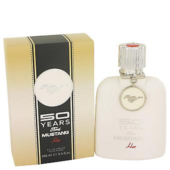 50 anos Ford Mustang Eau De Parfum Spray Por Ford 3.4 oz Eau De Parfum Spray