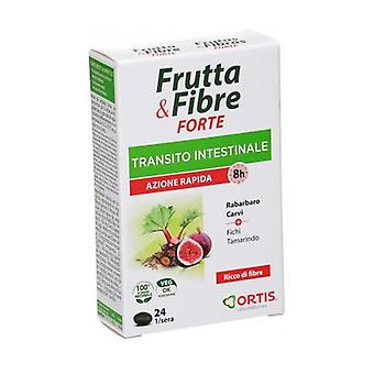 Fruits & Fibers Forte Intestinal Transit 24 tablets