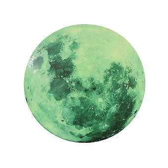 Moon Luminous Wall Stickers Glow in the Dark, Paste Mural Art Sticker for Kids Bedroom