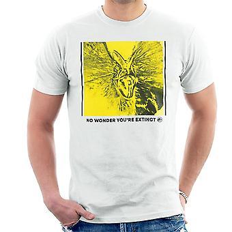 Jurassic Park Dilophosaurus kein Wunder, dass Sie ausgestorben Männer's T-Shirt