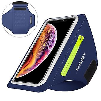 Zipper Running Sport Armbands For Airpods - Pro Belt Hand Pouch For Iphone