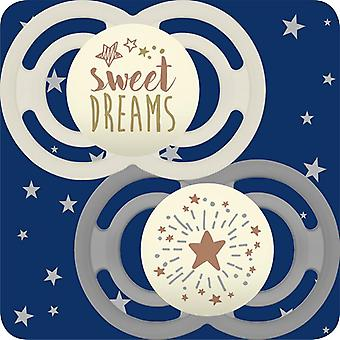 Mam perfect night soother sweetdream 6m+ 2pk
