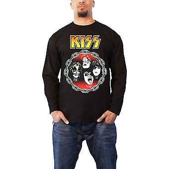 Kiss T Shirt You Wanted The Best Band Logo new Official Black Long Sleeve Unisex