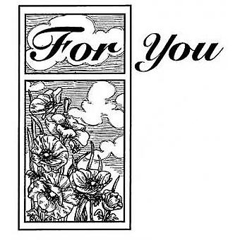 Creative Expressions For You Pre Cut Stamp
