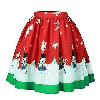 المرأة مساء عيد الميلاد كوكتيل حزب تافه تنورة تنورة