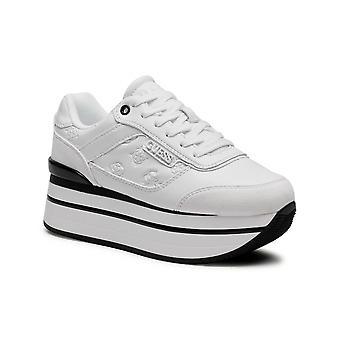 Shoes Women's Sneaker Guess Hansin Runner White Ds21gu22 Fl5hnspel12
