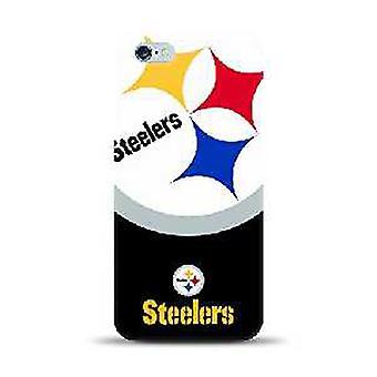 Mizco Sports NFL Oversized Snapback TPU Case for Apple iPhone 6 / 6S (Carolina Panthers)