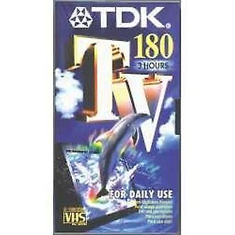 Tdk e 180 tv blank tapes wof68137