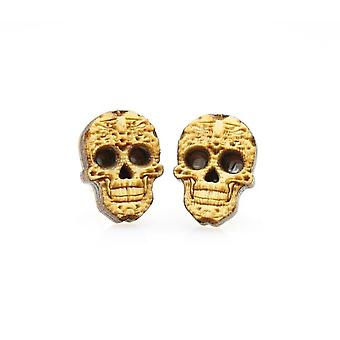Sugar Skull Stud Earrings #3051