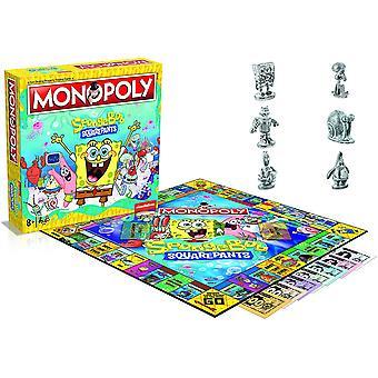 Spongebob firkant monopol brætspil