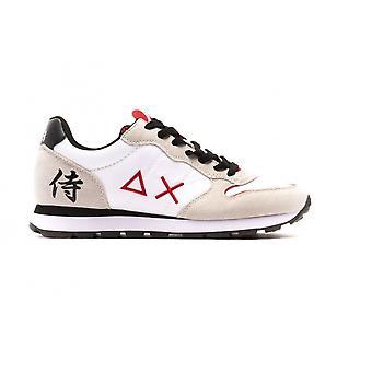 Running Sun68 Tom Japan Suede/ Nylon White Sneaker Us21su18 Z31104
