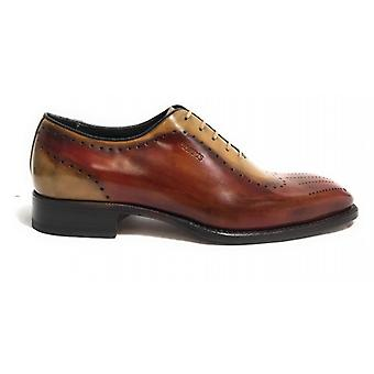 Men's Shoes Harris French Handmade Leather Col. Shade Leather /red Braques U17ha86