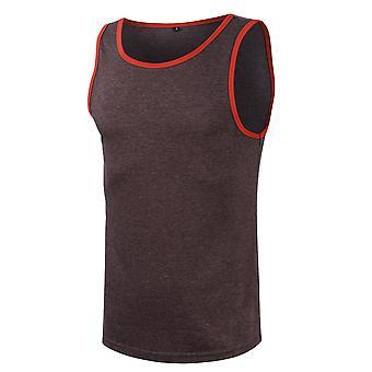 Yangfan Mens Casual Tank Tops Camicia senza maniche per il fitness