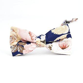 Muoti Kukka Rusetti Solmiot Puuvilla Print Neckties