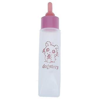 زجاجة حليب الحيوانات الأليفة 30ml حلمة السيليكون تغذية الحيوانات الصغيرة / القطط الهامستر وال