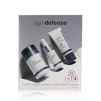 Age defense kit: daily superfoliant 13g+ biolumin c serum 10ml+ dynamic skin recovery spf 50 12ml 262444 3pcs