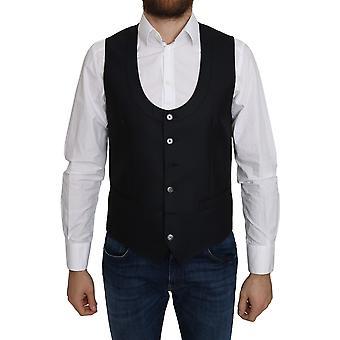 Dolce & Gabbana Silk Romb Pattern Formal Waistcoat - TSH5042