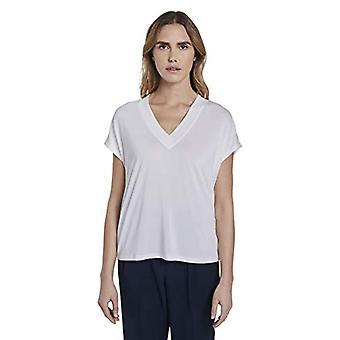 トム・テーラー ベーシックTシャツ、10315-ウィスパーホワイト、XSウーマン