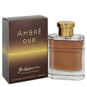 Baldessarini Ambre Oud by Hugo Boss Eau de Parfum Spray 3 oz (miehet) V728-543611
