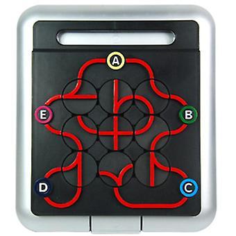 Metron yhteysasemat track maze puzzle board pelitehtävät logiikka päättely älykkyys