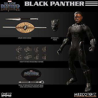 Black Panther (Chadwick Boseman) ONE:12 Collective from Black Panther