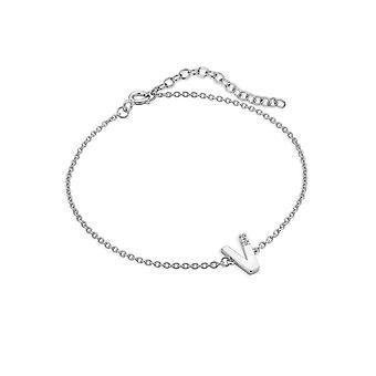 Hot Diamonds Diamond Letter V Bracelet DL633