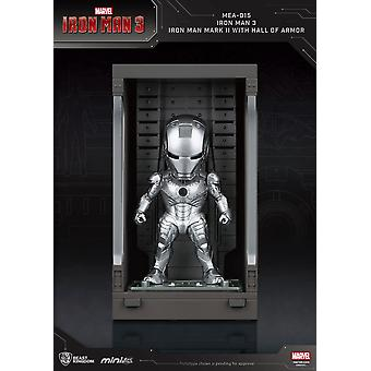 Iron Man 3 Mini Muna Hyökkäys Toiminta Hahmo Sali Haarniska Rautamies Merkki II 8 cm