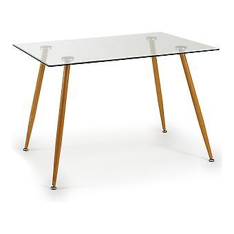 Keskipöytä Clea Metalli Karkaistu lasi