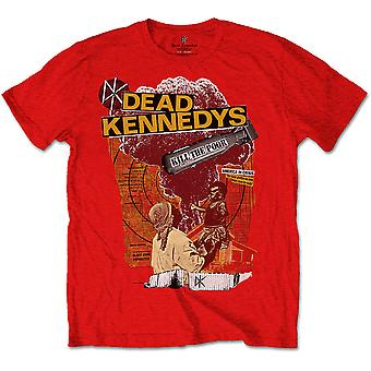 Dead Kennedys - Kill The Poor Unisex Large T-Shirt - Rosso