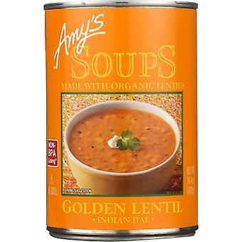 Amys Soup Lentil Gldn Gf, Case of 12 X 14.4 Oz