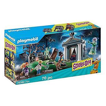 Leikkisetti Scooby Doo! Seikkailu hautausmaalla Playmobil 70362 (70 kpl)