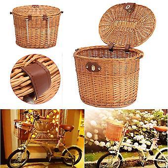 Bike front basket storage carrying basket shopping stuff