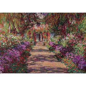 Piatnik A Pathway in Monet's Garden Giverny Jigsaw Puzzle (1000 Teile)